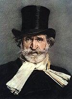 Giuseppe Verdi ritratto da Giovanni Boldini
