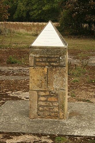 RAF Kings Cliffe - Glenn Miller Memorial