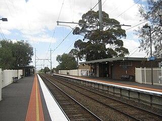 Glenroy railway station railway station in Glenroy, Melbourne, Victoria, Australia