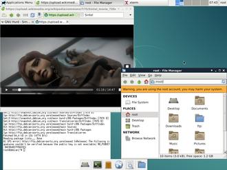 GNU - Image: Gnu hurd debian 1