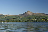 Goatfell from Brodick Harbour.jpg