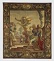 Gobelin in de Burgerzaal- De reeks van Aeneas en Dido. Mercurius herinnert Aeneas aan zijn verplichting naar Italië te reizen. T5 - Nijmegen - 20421788 - RCE.jpg
