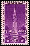Golden Gate International Exposition 3c 1939 issue U.S. stamp.jpg