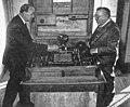 Gonzalo showing El Ajedrecista to Norbert Wiener.jpg