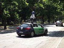 Google Street View camera cars in Gorzów Wielkopolski 02.JPG
