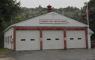 Goshen, New Hampshire - Fire station in Goshen
