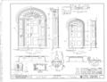 Governor Thomas Bibb House, County Road 71, Belle Mina, Limestone County, AL HABS ALA,42-BELMI,1- (sheet 5 of 7).png