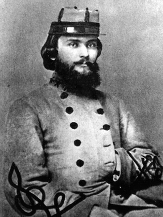 15th Regiment Alabama Infantry - LTC William C. Oates, commander of the 15th Alabama Infantry from Spring of 1863 to July 1864
