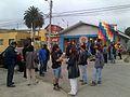 Grabación en San Antonio de franja electoral de Roxana Miranda.jpg