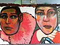 Graffiti in Wien Donaukanal Nähe Rossauer Lände - panoramio.jpg