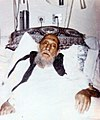 Grand Ayatollah Sayyid Mohammad Kazem Shariatmadari, days before death -1986 (02).jpg