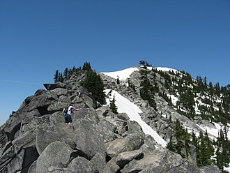 King County, Washington - The Cascade Range (including Granite Mountain shown here) dominates the eastern part of King County.
