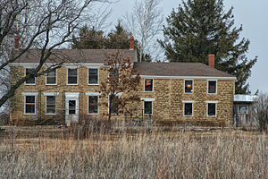 National Register of Historic Places listings in Lafayette County, Wisconsin - Image: Gratiot House