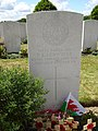 Grave of Francis Ledwidge at Artillery Wood Cemetary 04.jpg