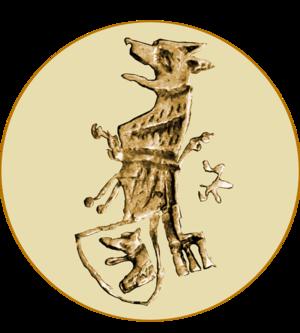 Balša III - Image: Grb sa barskog novca Balše III