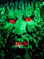 Green man in the grotto under Leeds castle maze - geograph.org.uk - 1206122.jpg