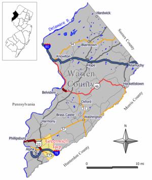 Greenwich Township, Warren County, New Jersey - Image: Greenwich twp nj