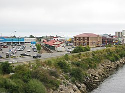Skyline of Greymouth