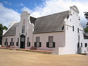 Groot Constantia - Groot Constantia manor house, a historic Cape Dutch building