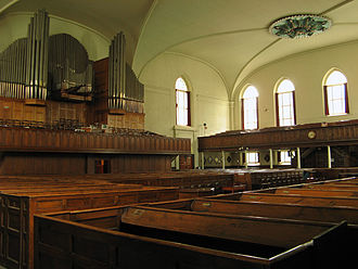 Dutch Reformed Church in South Africa (NGK) - The interior of the Groote Kerk