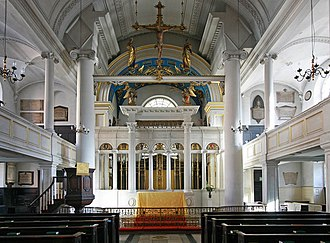 Grosvenor Chapel - Image: Grosvenor Chapel, South Audley Street, Mayfair East end geograph.org.uk 1571702