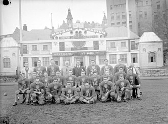 McGill Redmen and Martlets - Football at McGill, 1946.