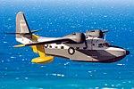 Grumman HU-16C Albatross in flight (modified).jpg