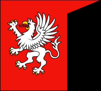 Gryf coat of arms - Image: Gryfska vlajka