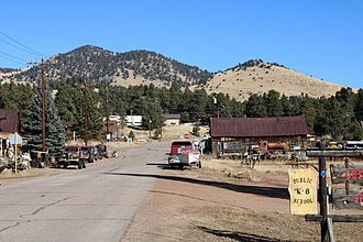Guffey, Colorado - Main Street.