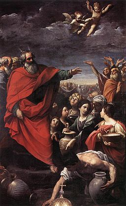 Guido Reni - The Gathering of the Manna - WGA19287