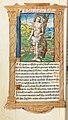 Guillaume Le Rouge - Printed Book of Hours (Use of Rome)- fol. 102v, St. Sebastian - 2009.276.102.b - Cleveland Museum of Art.jpg