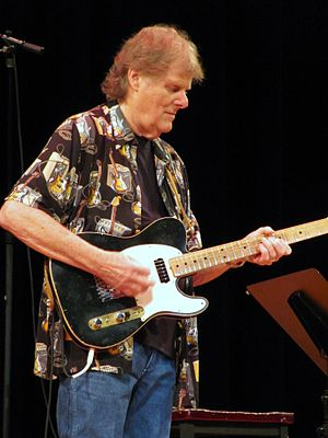 Reggie Young - Guitarist Reggie Young, in concert at the Back in Memphis benefit for Sweet Inspiration Myrna Smith, August 12th, 2010, Elvis Week, University of Memphis