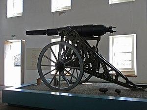 Gun at Elizabeth Castle St Helier Jersey.jpg