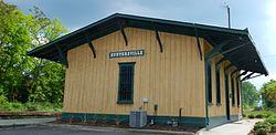 The Guntersville Railroad Depot Museum is a newly renovated train depot originally built in 1892 and presently owned and maintained by the Guntersville Historical Society.