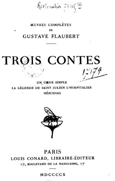 File:Gustave Flaubert - Trois contes.djvu