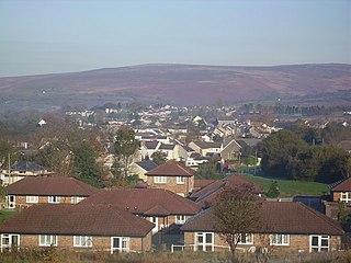 Gwaun-Cae-Gurwen village in Wales