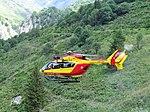 Hélicoptère-EC 145 sécurité civile et cirque des Nants Vanoise.JPG