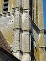 Hérouville (95), église Saint-Clair, clocher, ornementation des contreforts.jpg