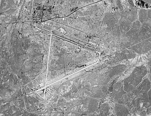 "aerial photograph of the H-3 ""Main"""