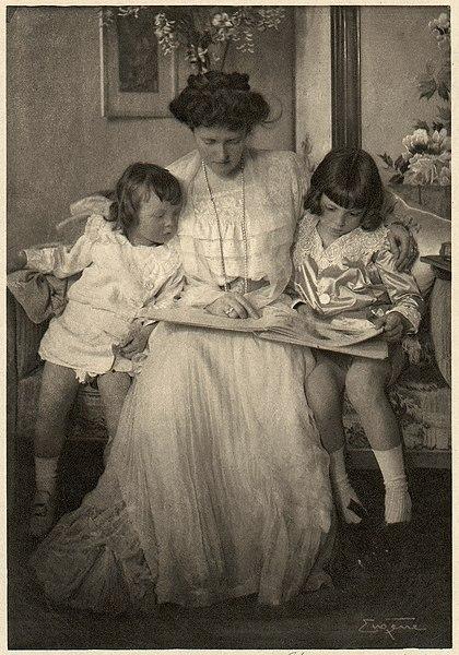 File:H.R.H. Princess Rupprecht with Prince Leopold and Albrecht Johann MET DP72097.jpg