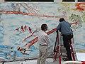 HK 九龍城 Kln City 土瓜灣 To Kwa Wan wall painting graffiti art birds n cloud 落山道 Lok Shan Road 炮仗街 Pau Chung Street 馬頭圍道 Ma Tau Wai Road February 2021 SS2 09.jpg