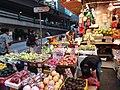 HK 灣仔 Wan Chai 寶靈頓道 Bowrington Road fresh vegetable n seafood wet outdoor old market August 2019 SSG 05.jpg