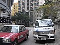 HK Mid-levels 干德道 62 Conduit Road delivery van 恆隆白洋社 Clean Living Jan-2011.jpg