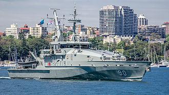 Armidale-class patrol boat - Image: HMAS Broome (ACPB 90)