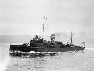 Hunt-class minesweeper (1916) class of minesweeping sloop built between 1916 and 1919