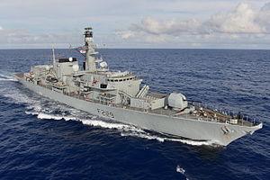 HMS Lancaster (F229) - Image: HMS Lancaster MOD 45155777
