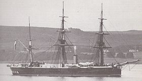 Image illustrative de l'article HMS Shannon (1875)