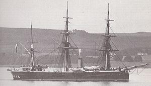 HMS Shannon (1875) - Image: HMS Shannon (1875)