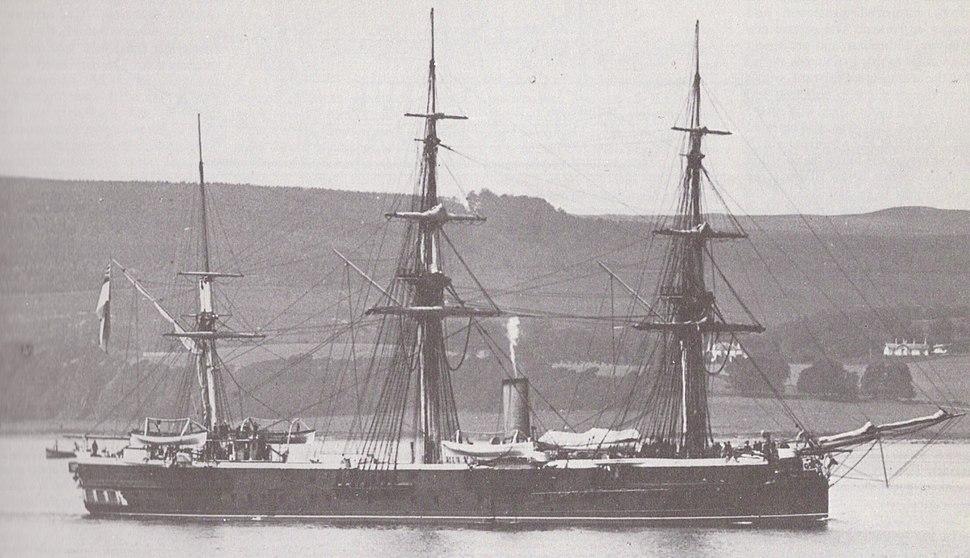 HMS Shannon (1875)