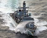 HMS St Albans (F83), the 16th and last of the Royal Navy's Type 23 frigates to be built MOD 45159590.jpg